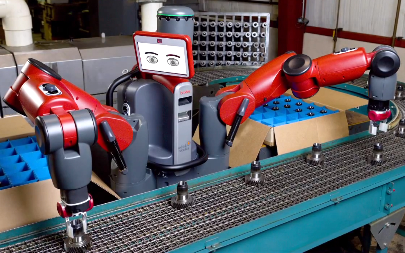 A glimpse of the future: Baxter the robot